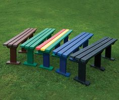 guyon banc plastique recycle sturdy mobilier urbain guyon mobilier exterieur / Guyon STURDY recycled plastic bench street furniture guyon outdoor furniture