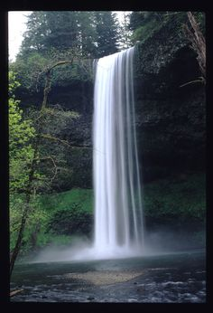 South Falls, Silver Creek Falls, Salem Oregon; actually they are in Silverton, Oregon.  Molalla High Girls Track team had end of year parties there.