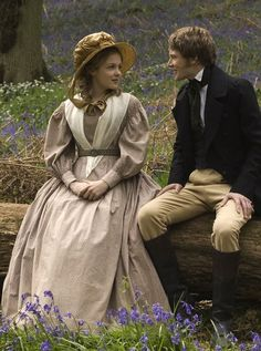 Kimberley Nixon as Sophy Hutton and Simon Woods as Dr. Harrison in Cranford (BBC TVseries, 2007)
