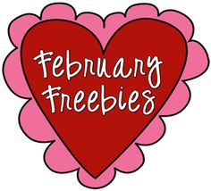 February Freebies Galore!  You can find loads of freebies for February in this link up, and more are being added each day!