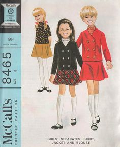 McCall's 8465 © 1966.  Considered by some experts to be an unmarked Helen Lee design