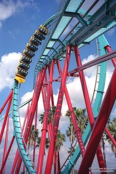 Kumba at Busch Gardens in Tampa Bay is a m) Bolliger & Mabillard steel sit-down roller coaster with seven inversions. It has received a Golden Ticket Awards ranking. Tampa Florida, Tampa Bay, Fighter Pilot, Fair Grounds, Roller Coasters, Awards, Gardens, Travel, Steel