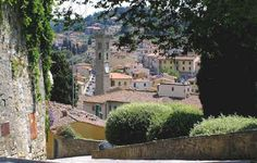 #ridecolorfully to Fiesole in Tuscany, Italy