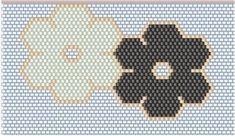 Peyote flowers - My Recommendations Peyote Stitch Patterns, Bead Loom Patterns, Jewelry Patterns, Beading Patterns, Seed Bead Bracelets, Seed Bead Jewelry, Beaded Jewelry, Jewellery, Beading Techniques