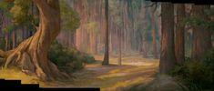 Animation Backgrounds: ENCHANTED