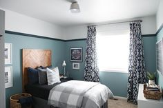 """Just before the 2015/2016 school year, our oldest son wanted to move his bed to the middle of the room for """"something different"""". The momen..."""