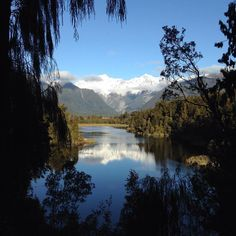 Lake Matheson on the west coast of the South Island #nofilter #NewZealand #itsTime2Go!
