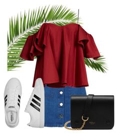 """60 second style"" by levichenckova-katya ❤ liked on Polyvore featuring Miss Selfridge, Anna October, adidas, Mulberry, summercamp and 60secondstyle"