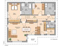 Bungalow Vita Pult von Kern-Haus | Versetztes Pultdach