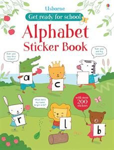 Show details for Alphabet Sticker Book