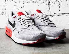 Nike Air Max 1 Premium   Grey Suede