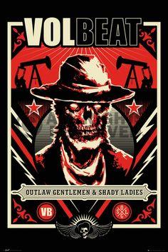 Poster: Volbeat - ghoul zum Verkauf online. Bestellen Sie Ihre Poster, Ihre 3D Film-Poster oder ähnliches interessantes Maxi Poster