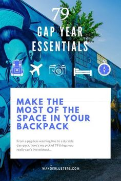 Make the Most of the Space in your Backpack | travel tips |