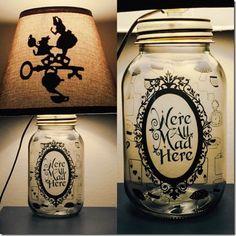 Disney Mason Jar Lamps That Will Light Up Your Life