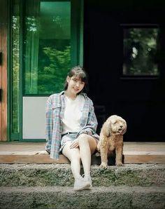 IU Hyori's B&B photo Korean Girl, Asian Girl, Real Angels, Lee Hyori, Park Bo Young, Spring Girl, Anime Child, People Of Interest, Iu Fashion