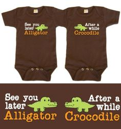 If I ever have twins , this would be the most cutest thing ever to put on them :D