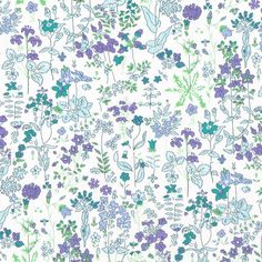 Field-Flowers-D - beautiful floral Liberty fabric