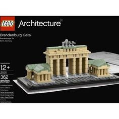 LEGO Architecture Brandenburg Gate 21011 Boys & Girls 12+ Design Berlin's Symbol #LEGO