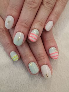 cute stripes and shapes!