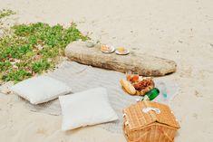 Dream beach picnic
