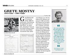 """Nuestra querida Grete Mostny, directora del MNHN entre 1964 y 1982, fue incluida en la publicación """"Bedrohte Intelligenz"""" (""""Inteligencia Amenazada""""), de la Universidad de Viena. Este documento consigna biografías de intelectuales que debieron huir de Europa, escapando del régimen nazi, en los años previos de la Segunda Guerra Mundial."""