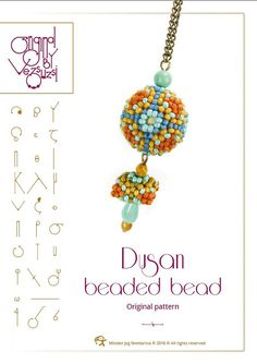 Hey, I found this really awesome Etsy listing at https://www.etsy.com/listing/399422103/beading-tutorial-pattern-dusan-beaded