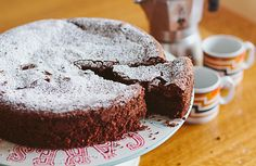 Nigella's Flourless Chocolate Lime Cake
