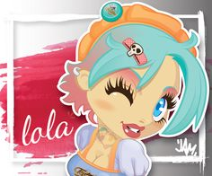 Lola detail - Vector Illustration