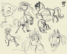 Okay, love the unicorn character.   ✤ || CHARACTER DESIGN REFERENCES |  ✤