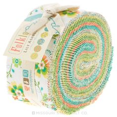 Folklore Jelly Roll from Missouri Star Quilt Co by Lilly Ashbury for Moda Fabric
