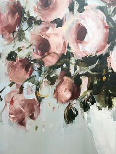 1000+ images about Nicole Pletts paintings - blomme on Pinterest