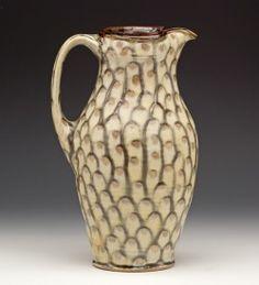 Bruce Gholson, Pitcher, Bulldog Pottery, Seagrove, NC
