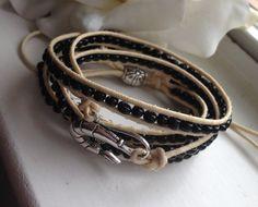 Online Jewelry Designer Inspired 5x Wrap by goldenhandscreations