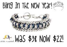 Join the fun with our end of season sale!! #Bling #Newyears #Chloeandisabel #Sale Shop http://www.chloeandisabel.com/boutique/rachel/850d14