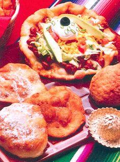 Recipe: Indian Fry Bread Tacos (using frozen bread dough) - Recipelink.com