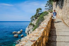 Hows this for an Hiking path? Only in Spain! Camino de Ronda Spain Divergent Travelers http://www.divergenttravelers.com/hiking-camino-de-ronda-costa-brava-spain/