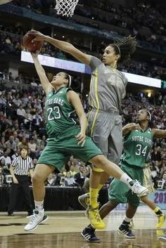 Villa Maria graduate Kayla McBride and the Notre Dame Fighting Irish lost to the Baylor Lady Bears in the national championship on April 3.