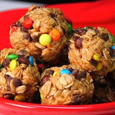 No Bake Monster Balls Are an Easy Back to School Treat!