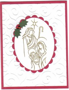 Holy Triptych Holy Family by KathyE - Cards and Paper Crafts at Splitcoaststampers