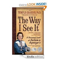 The Way I See It: A Personal Look at Autism and Asperger's by Temple Grandin. By far the best book I have come across to help me understand what it is like for people with Autism and Asperger's. I must read, great video. Good Books, Books To Read, My Books, Music Books, Temple Grandin Books, Aspergers Autism, Adhd, Autism Books, It Pdf