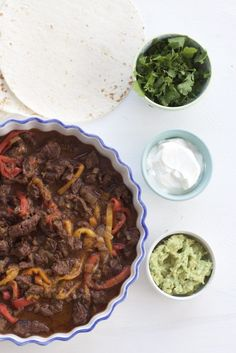 Instant Pot Fajitas are all the rage! In my house we love this simple and tasty dish which consists of meat, veggies and a few spices!
