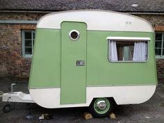 Classic Bluebird Vintage caravan | eBay