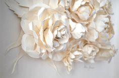 paper art | work of art : paper flowers for bright february days}