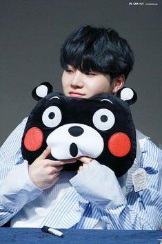Suga is the Type of a Boyfriend ? - Kumamon - Wattpad Read Kumamon from the story ?Suga is the Type of a Boyfriend ? Bts Suga, Min Yoongi Bts, Bts Bangtan Boy, Bts Boys, Jhope, Namjoon, Taehyung, Seokjin, Foto Bts