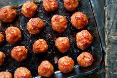 Pineapple Glazed Ham Balls Recipe | Simply Recipes
