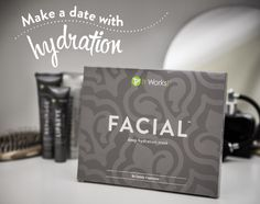 Take years off of your face with the It Works! Facial! Turn back time in as little as 45 Minutes. Hydrate & moisturize tighten tone & firm.