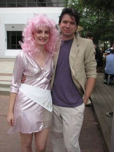 Jem and Rio costume - I think the Rio dude cracks me up most. Halloween Night, Halloween Crafts, Halloween Costumes, Couple Halloween, Jem Costume, Halloween Hologram, Jem And The Holograms, Grunge Hair, Rio