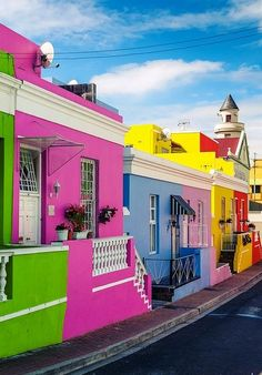 Vila super colorida em Olinda.