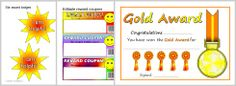 Printable Certificates and Awards Primary Resources - SparkleBox