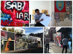 Graffiti class in San Francisco - www.sabiar.com